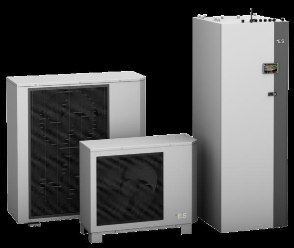 Luft vand varmepumpe - Heatsave
