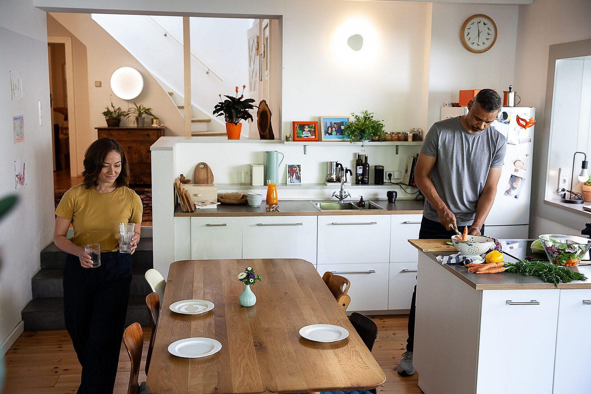 Smartbelysning Køkken